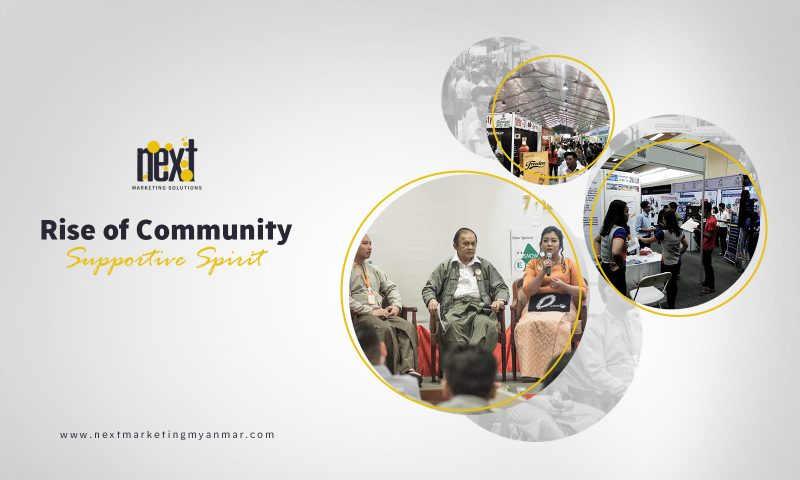'Rise of Community Supportive Spirit'